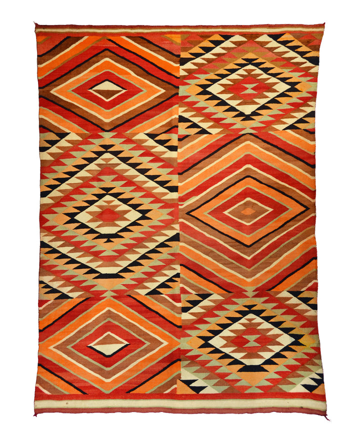 SOLD Transitional Optical Navajo Weaving : Historic : GHT 1924