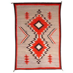 Crystal JB Moore Plate III and XIX Variant Navajo Weaving : Historic : GHT 1941 - Getzwiller's Nizhoni Ranch Gallery