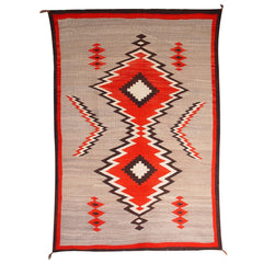 Crystal JB Moore Plate III and XIX Variant Navajo Weaving : Historic : GHT 1941