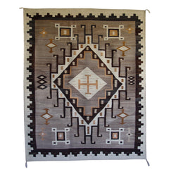 Crystal JB Moore Navajo Weaving : Historic : GHT 2045