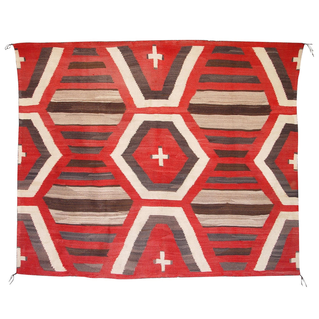 3rd Phase Chief Blanket : Historic : GHT 2069 - Chiefs Blankets - Historic Collection- Getzwiller's Nizhoni Ranch Gallery - NavajoRug.com