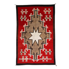 Ganado Great Star Pictorial Navjo Weaving : Historic : GHT 2088