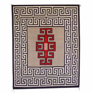 Crystal Navajo Weaving : Historic : GHT 2101 : 59″ x 72″ - Getzwiller's Nizhoni Ranch Gallery