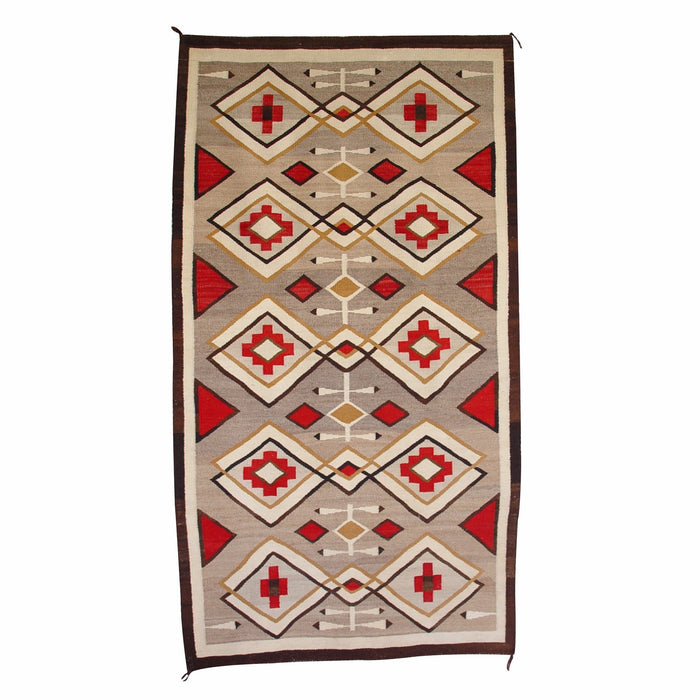 Crystal Navajo Weaving : Historic : GHT 2135 : 44″ x 80″