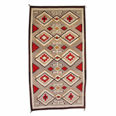 Crystal Navajo Weaving : Historic : GHT 2135