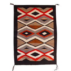 Crystal Navajo Weaving : Historic : GHT 2156