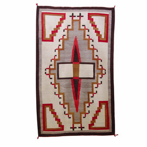 Crystal Navajo Weaving : Historic : GHT 2169 : 43″ x 61″ - Getzwiller's Nizhoni Ranch Gallery