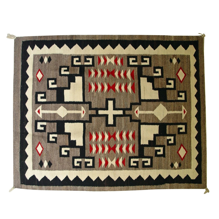 SOLD Crystal JB Moore Navajo Rug : Antique : GHT 2185