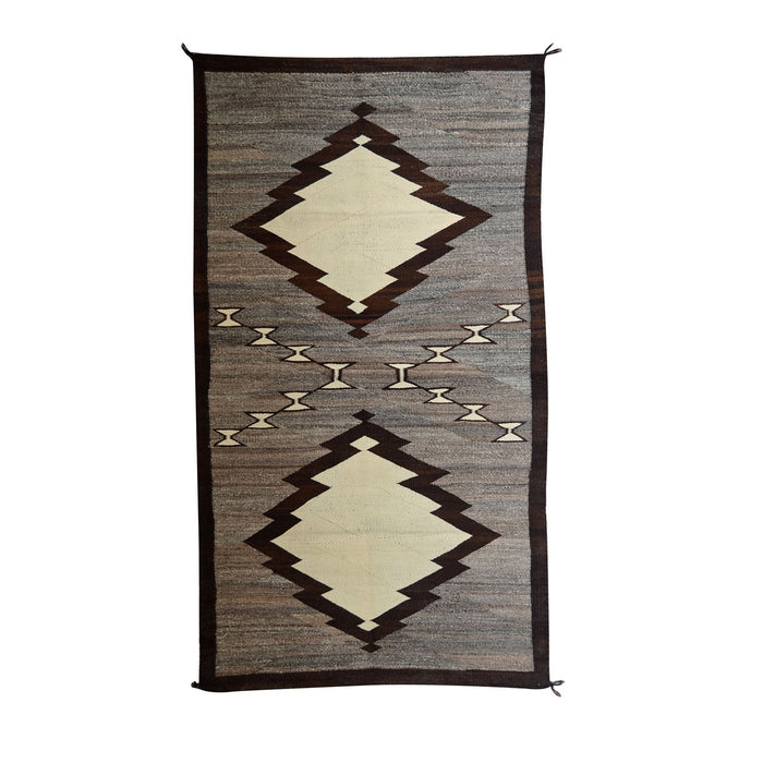 "Transitional Navajo Weaving : Historic : GHT 2209 : 45"" x 85"""