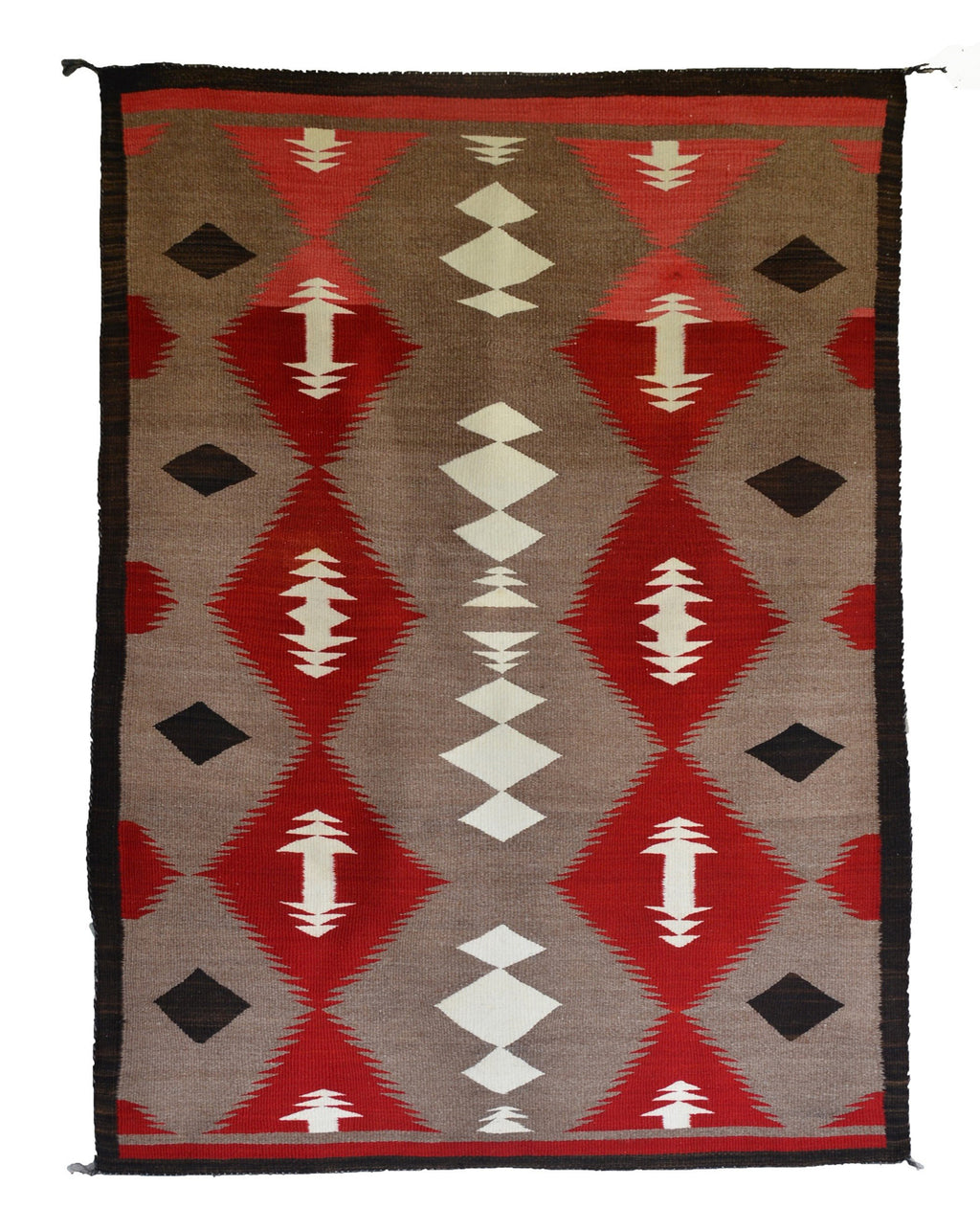Crystal Navajo Rug Weaving : Historic : GHT 2255