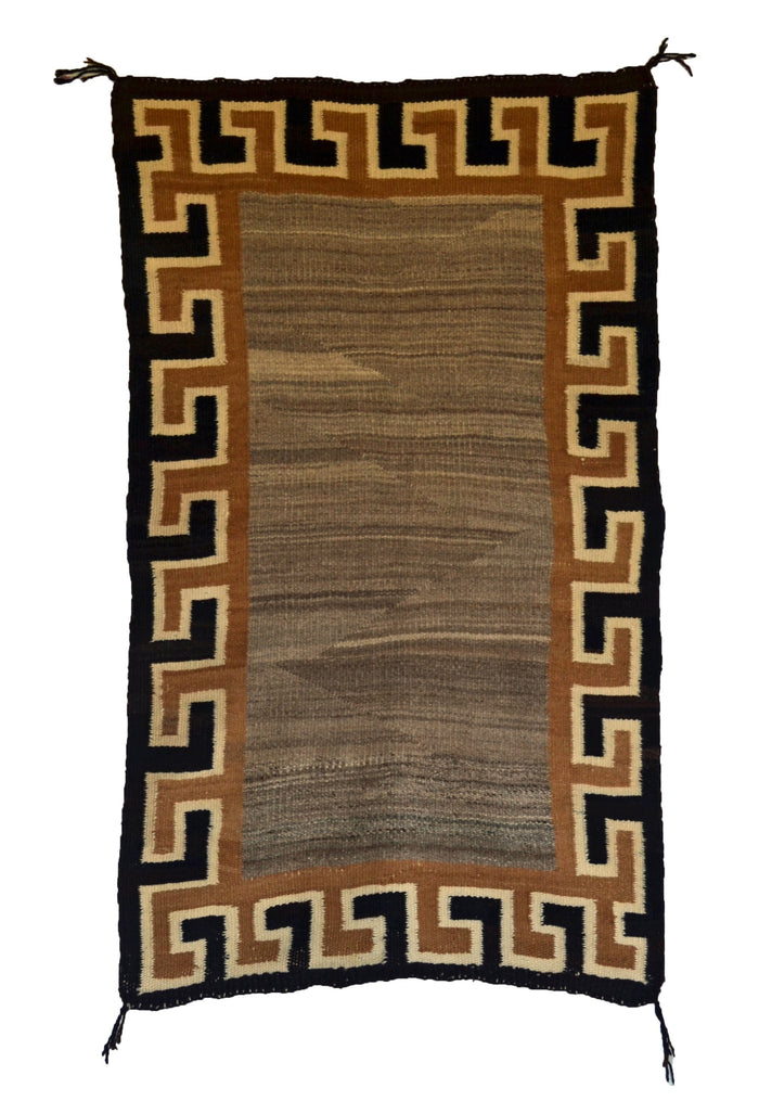 Double Saddle Blanket -Navajo Weaving : Historic : GHT 2257 : 29″ x 43″