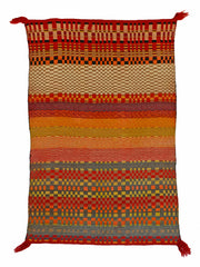 Navajo Twill Double Saddle Blanket  : Historic : GHT 2281