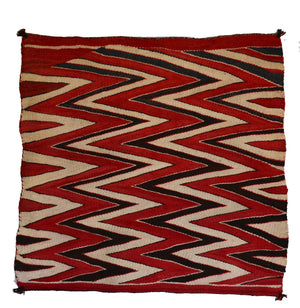 Saddle Blanket - Single Wedge Weave Saddle Blanket : Historic : GHT 2288 - Getzwiller's Nizhoni Ranch Gallery