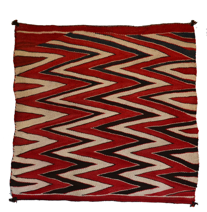 "Saddle Blanket - Single Wedge Weave Saddle Blanket : Historic : GHT 2288 : 33"" x 36"""