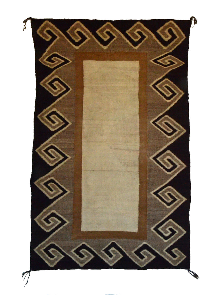 Double Saddle Blanket : Historic Navajo Weaving : GHT 2290 - Getzwiller's Nizhoni Ranch Gallery