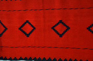"Late Classic Navajo Dress  Panel : Historic : GHT 2292 : 54"" x 33"" - Getzwiller's Nizhoni Ranch Gallery"