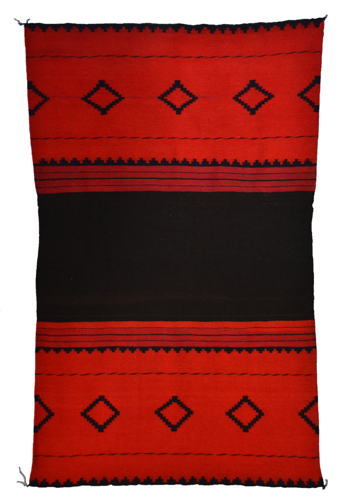 "Late Classic Navajo Dress  Panel : Historic : GHT 2292 : 54"" x 33"""