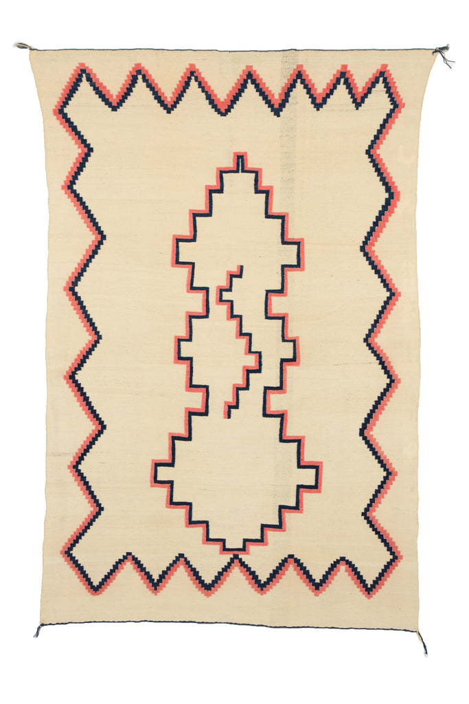 Late Classic Navajo Blanket: Historic : PC 82/ GHT 64 - Getzwiller's Nizhoni Ranch Gallery