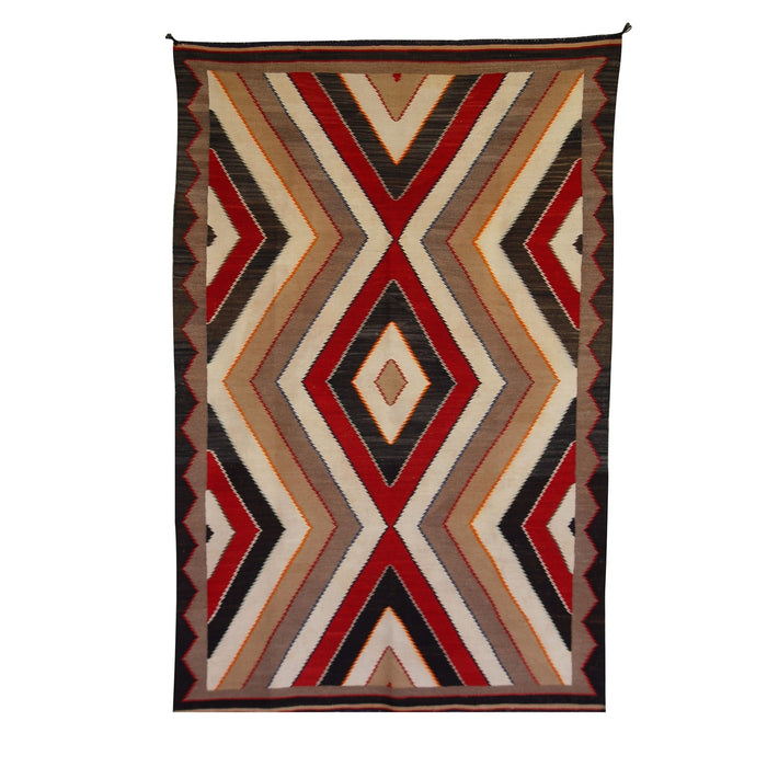 Red Mesa Navajo Weaving : Historic : GHT 755