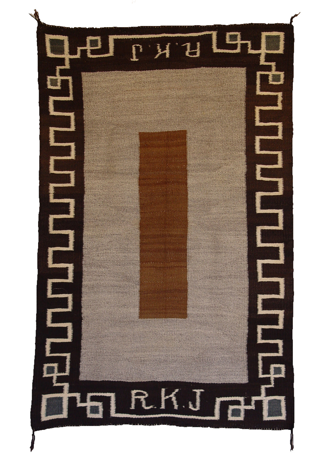 Double Saddle Blanket : Historic Navajo Weaving : GHT 773 - Getzwiller's Nizhoni Ranch Gallery