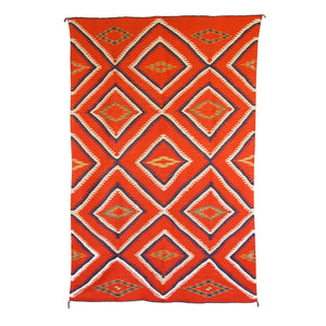 Serape Navajo Weaving : Historic : GHT 777 - Getzwiller's Nizhoni Ranch Gallery