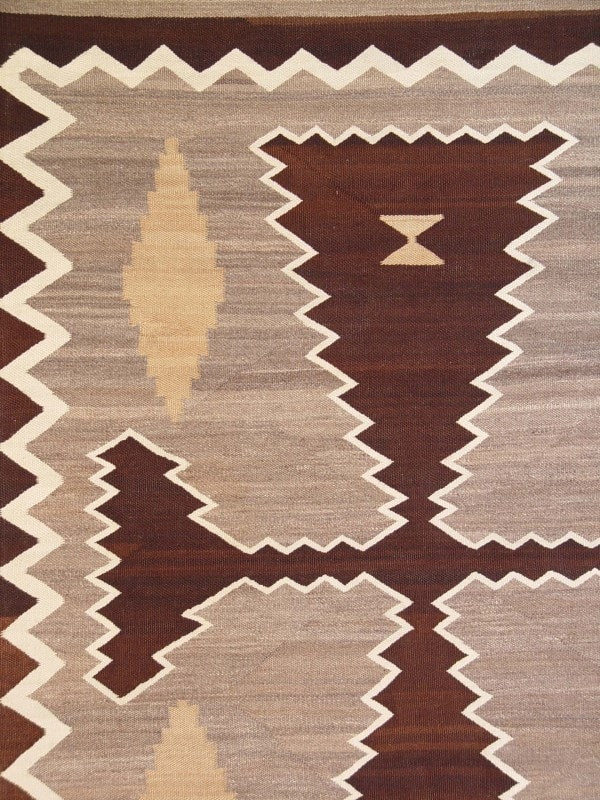 Two Grey Hills / Crystal Navajo Weaving : Historic : GHT 2008 - Getzwiller's Nizhoni Ranch Gallery