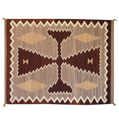 Two Grey Hills / Crystal Navajo Weaving : Historic : GHT 2008