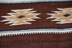 HOLD Horse Pictorial Navajo Weaving : GH : Churro 1633 - Getzwiller's Nizhoni Ranch Gallery