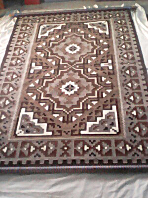 Two Grey Hills Navajo Rug for sale