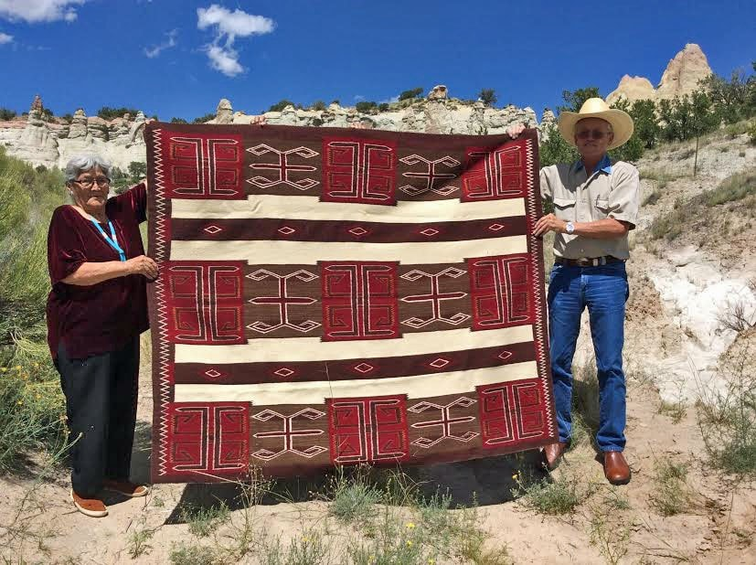 3rd Phase Chief Blanket : Julia Upshaw : Churro 1456