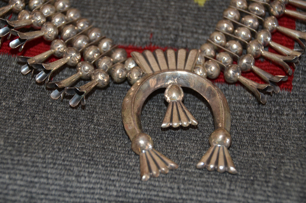 a7aaa9d69e05 ... Jewelry   Vintage Navajo Squash Blossom Necklace   NAJ-30N -  Getzwiller s Nizhoni Ranch Gallery ...