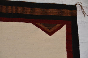 Native American Saddle Blanket :  Elsie Bia : Churro 1615