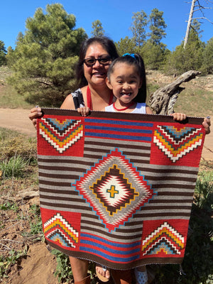 Navajo Rug for sale : Elvie Vanwinkle : Churro 1637