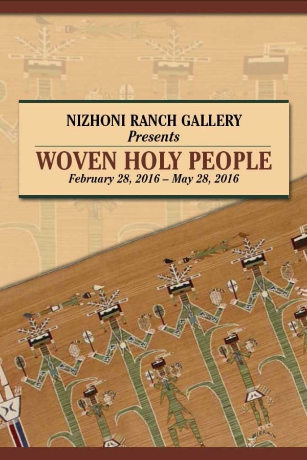 Book: Woven Holy People - Exhibit Catalog - Books - Books- Navajo Rugs - Navajo Textiles