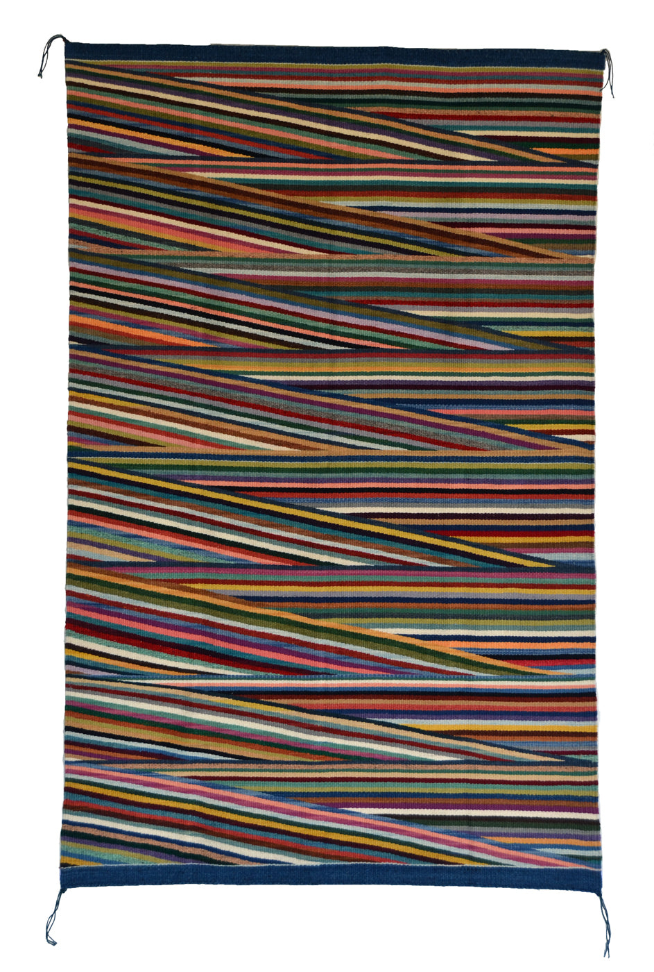 SOLD Optical Navajo Rug : Elsie Bia : Churro 1690