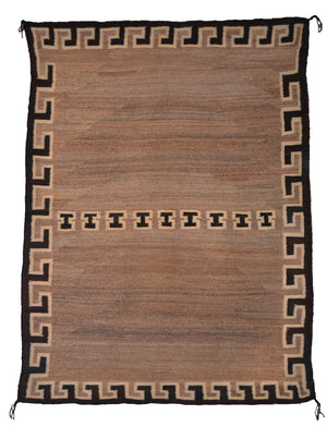 Double Saddle Blanket : Vintage Indian Blanket : PC 197 - Getzwiller's Nizhoni Ranch Gallery