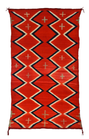 Vintage Native American Blanket : Late Classic period : PC 201
