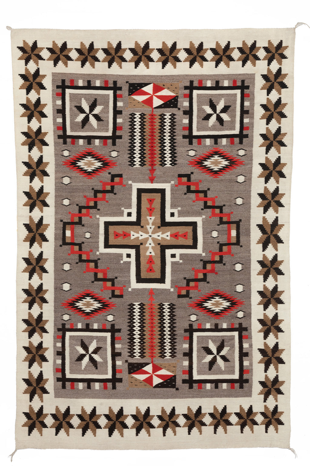JB Moore Navajo Rug : Historic : PC 104