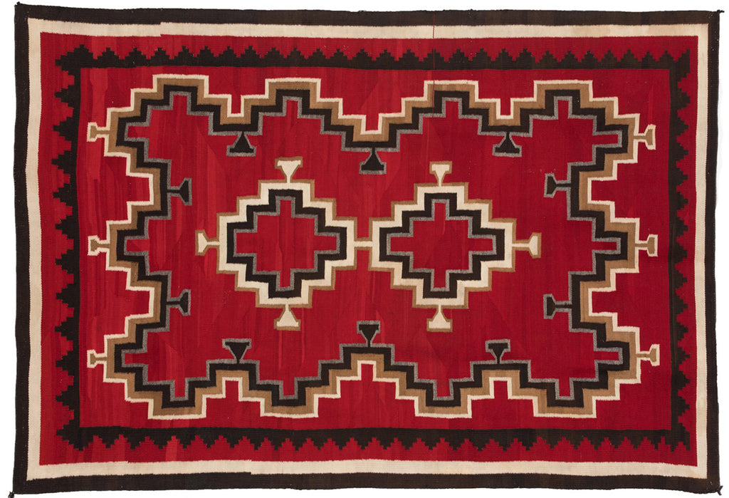 Crystal / Ganado Navajo Weaving : Historic : PC 118