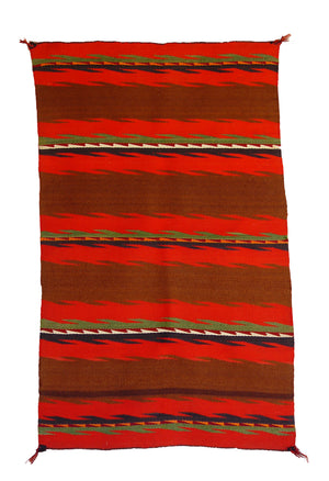 Double Saddle Blanket : Historic Navajo : PC 249 - Getzwiller's Nizhoni Ranch Gallery