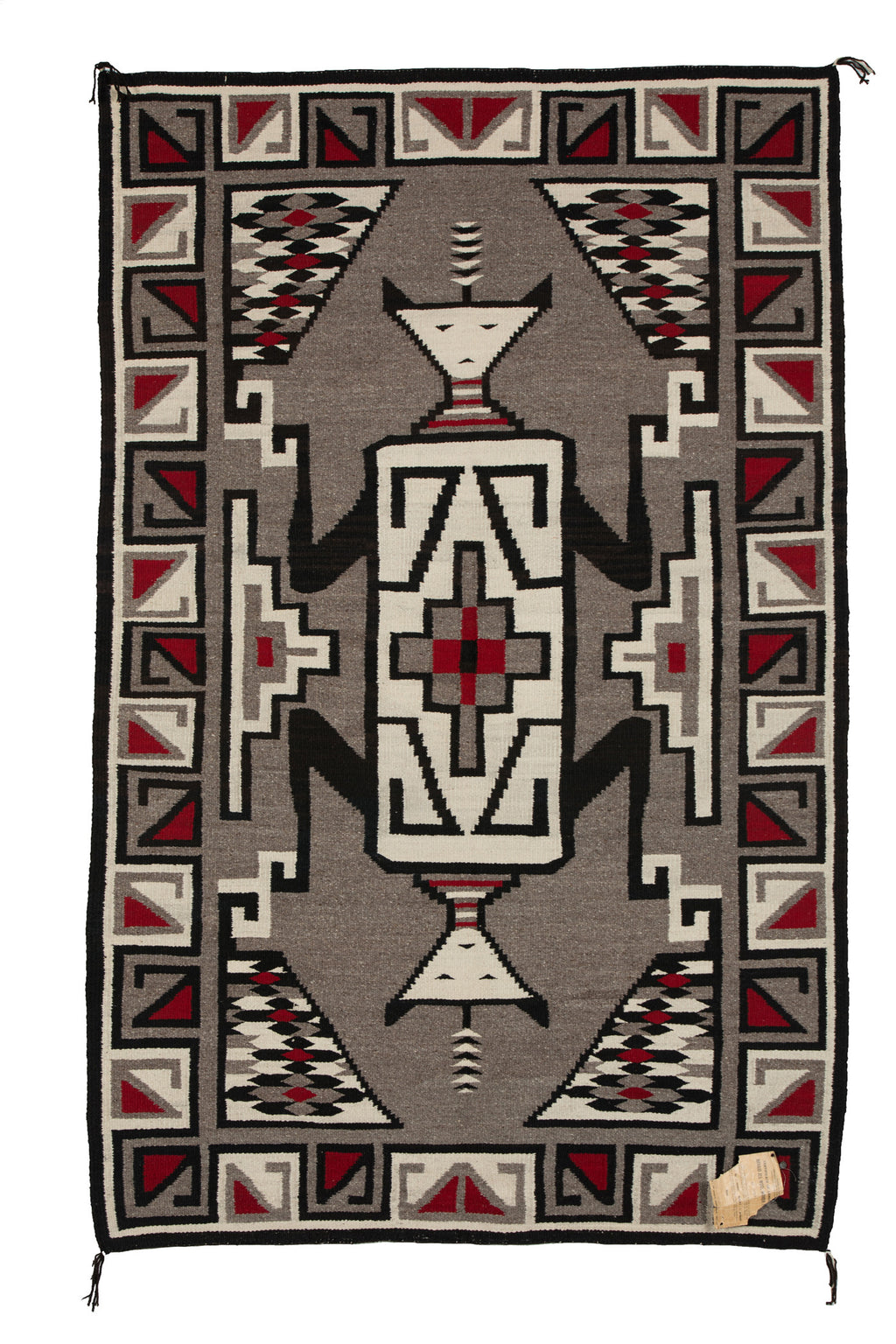 "Chee Dodge - Crystal Pictorial Navajo Rug : Historic : PC 276 : 48"" x 75"" - Getzwiller's Nizhoni Ranch Gallery"