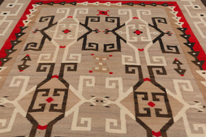 JB Moore- Crystal Navajo Rug : Historic : PC 105 - Getzwiller's Nizhoni Ranch Gallery