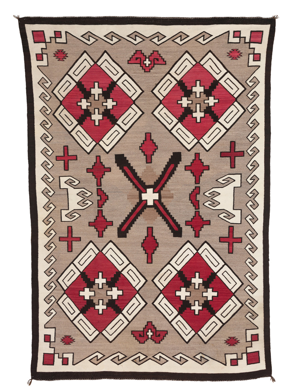 Klagetoh Navajo Rug : Antique Weaving : PC 106 - Getzwiller's Nizhoni Ranch Gallery