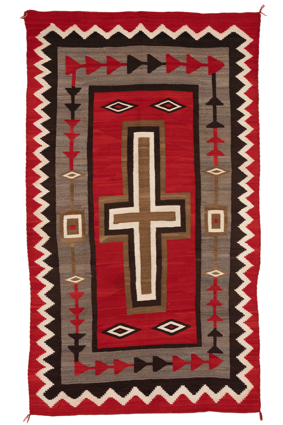JB Moore- Hubbell Navajo Weaving : Historic : PC 109 - Getzwiller's Nizhoni Ranch Gallery