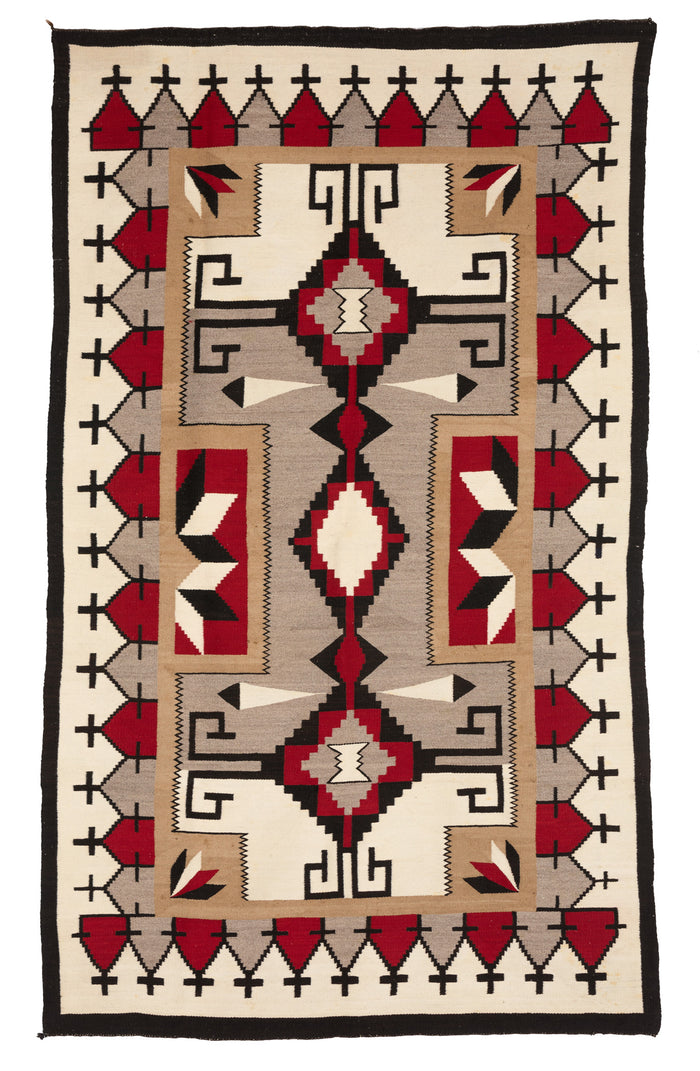 JB Moore/Crystal Variant : Historic Navajo Weaving: PC 114
