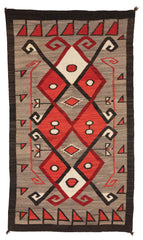 Crystal JB Moore Navajo Weaving : Historic : PC 115