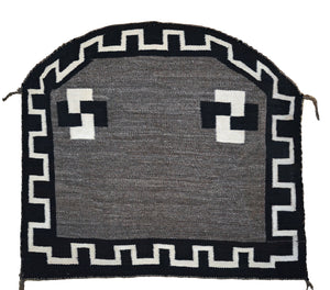 Single Saddle Blanket : Historic Navajo Weaving : PC 208 - Getzwiller's Nizhoni Ranch Gallery