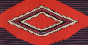 SOLD Moki Navajo Blanket : Historic : PC 259 - Getzwiller's Nizhoni Ranch Gallery