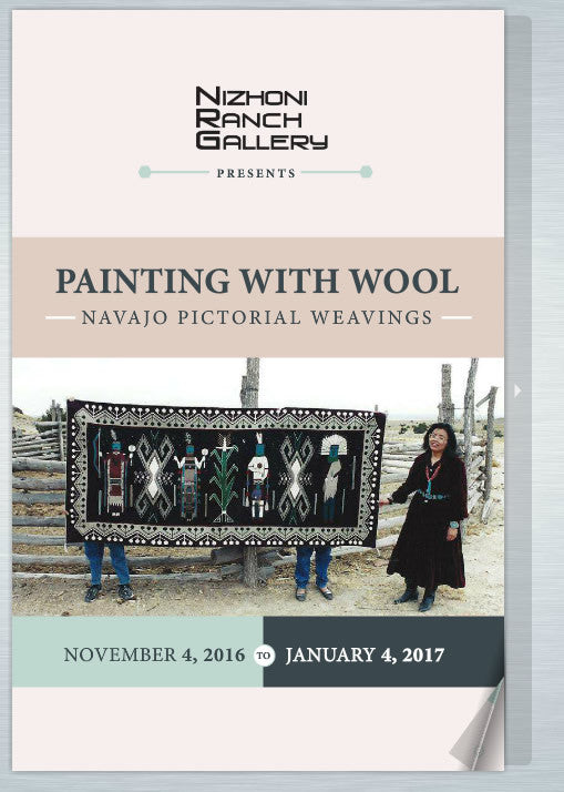 Book: Painted with Wool - Exhibit Catalog - Getzwiller's Nizhoni Ranch Gallery