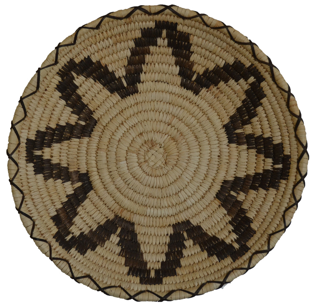 Native American Basket : Papago Wicker : Basket 30 - Getzwiller's Nizhoni Ranch Gallery
